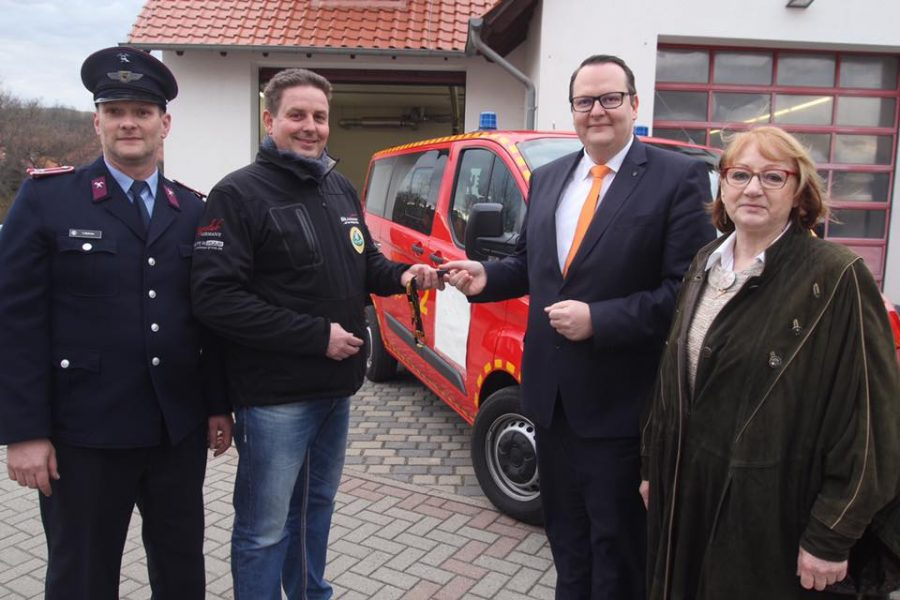MTW für die Feuerwehr Heimburg
